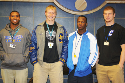 Tigers selected to All-State Team