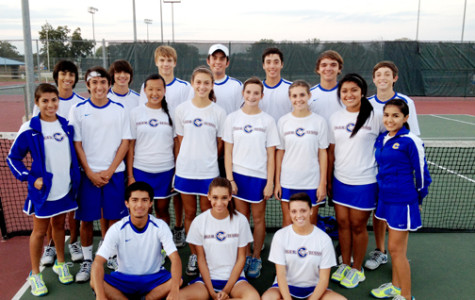 CHS Varsity Tennis wins District Championship
