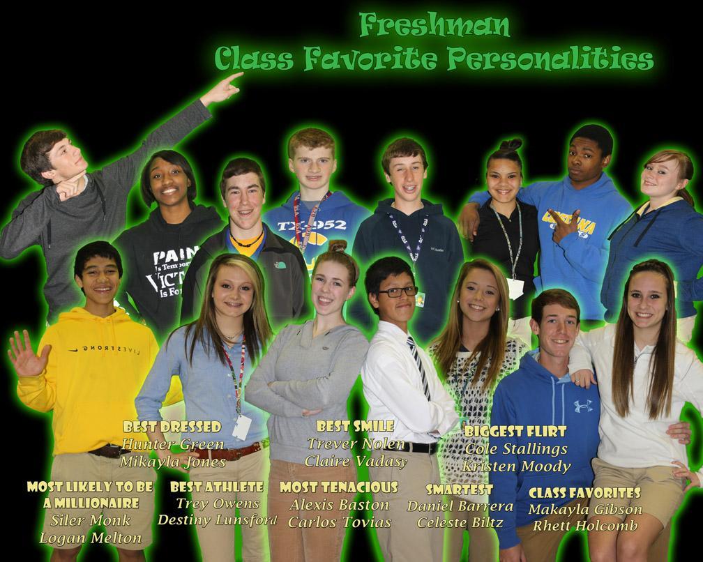 Freshmen+Personalities