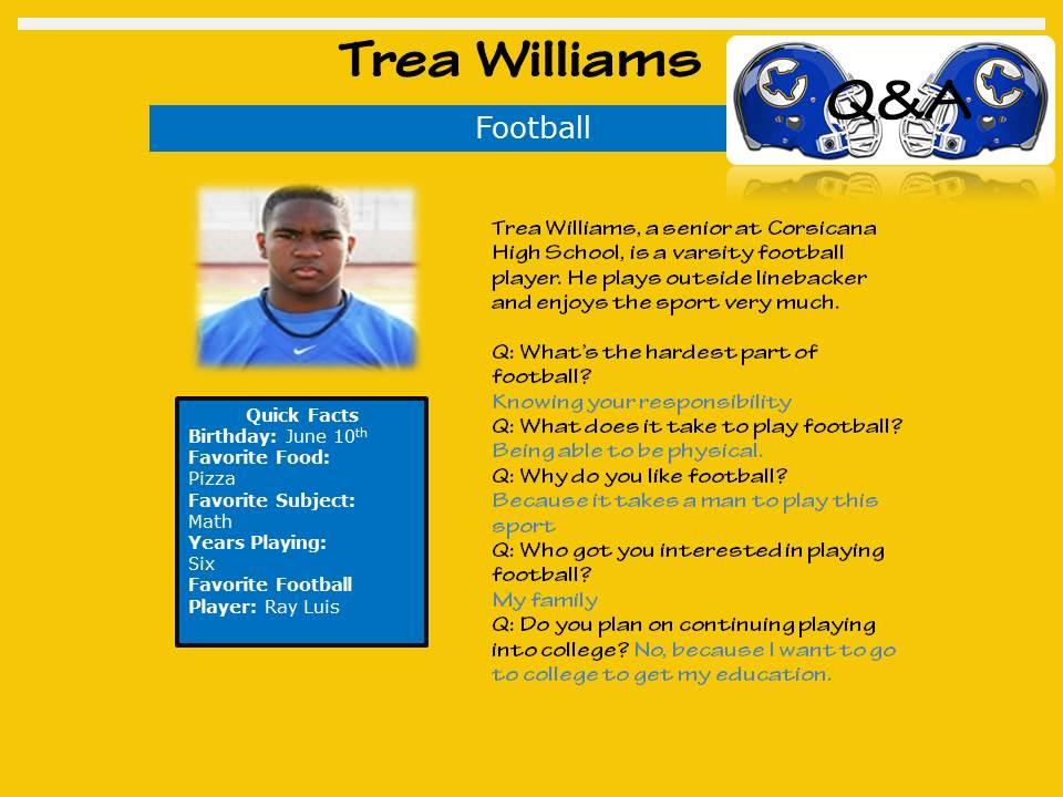 Trea+Williams