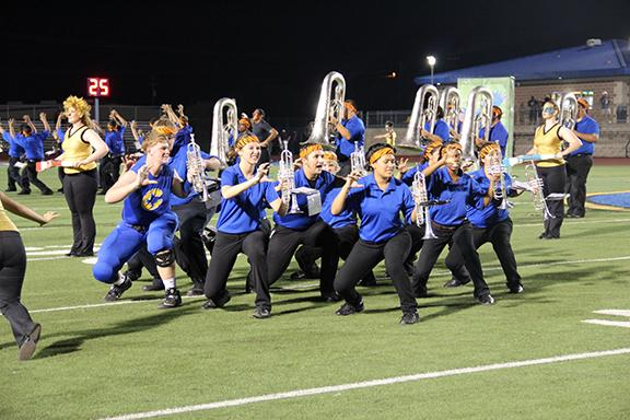 CHS Band Competes