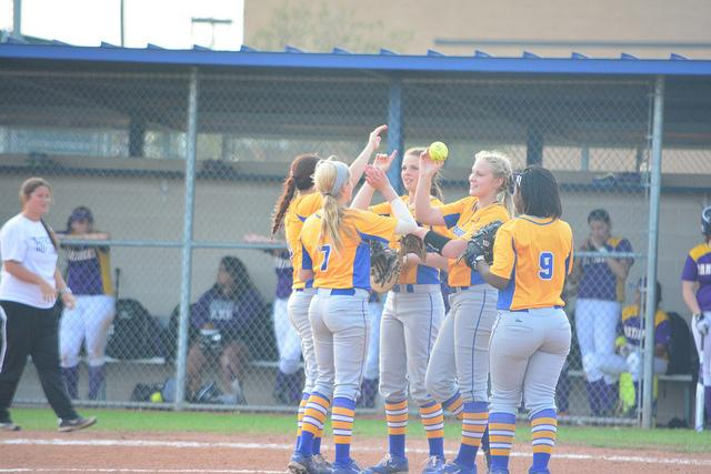 The Corsicana Tigers Varsity defeatJacksonville 3-0