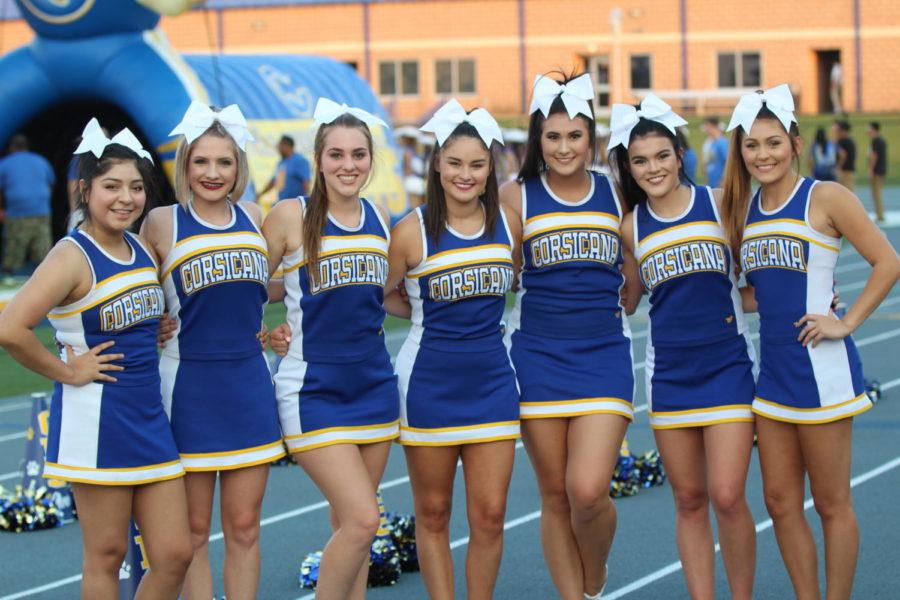 CHS 2017-2018 Senior Cheerleaders