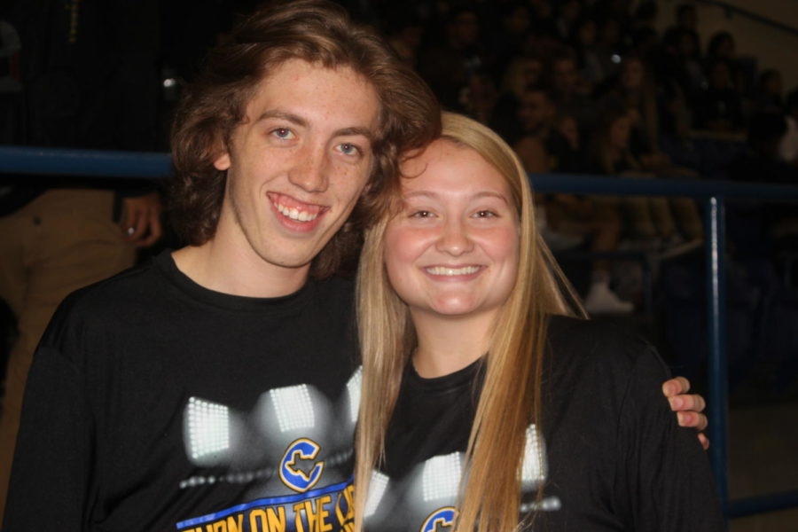 Allison Spence and Corbin Hill are Corsicana High Schools MC'S (Master of Ceremonies). Every pep rally they are always on the floor making the students in the stands go wild. These two never disappoint anyone and always have people up off their seat