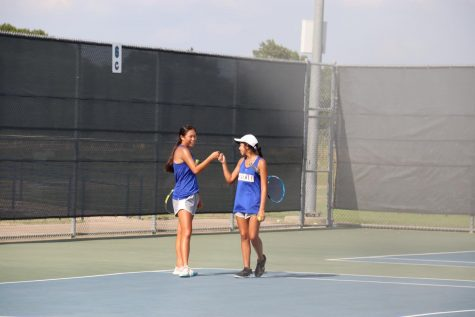 Tiger Tennis against Kaufman